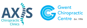 Axis Chiropractic Clinic and Gwent Chiropractic Centre Logo