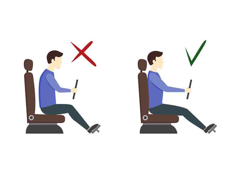 Driving Posture Do You Sit Correctly In Your Car Axis